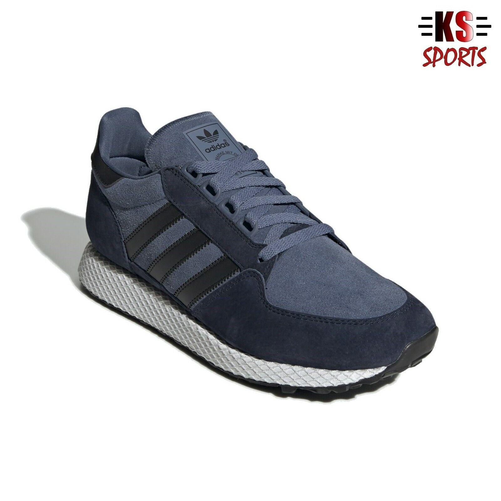 espina Odio Tomar represalias  Adidas Originals All Leather Forest Grove Men's Shoes EE8969 | eBay