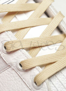 FLAT-WHEAT-SHOE-LACES-LONG-SHOELACES-8mm-wide-11-LENGTHS-VERY-HIGH-QUALITY
