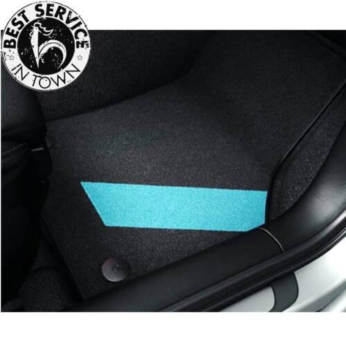 Textilfußmatten für vorne und hinten A3 color kit blue 8V1061270