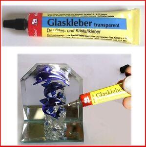 Glaskleber transparent cristal Colle Adhésif tube original de éléphant ® 14g  </span>