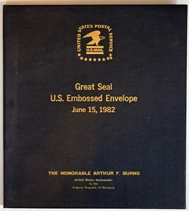 Great-Seal-of-the-United-States-FDCs-given-to-Fed-Chairman-Arthur-Burns