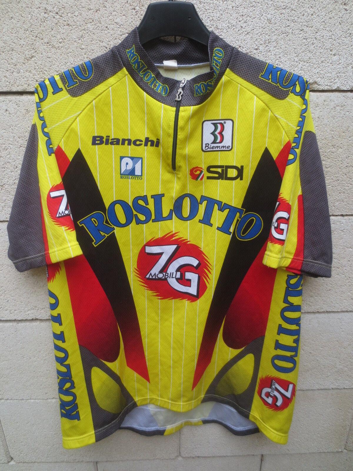 Maillot cycliste ROSLOTTO ZG MOBILI Tour de  France 1997 cycling shirt trikot XL  sales online