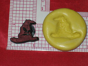 Harry Potter Sorting Hat Push Mold Silicone Bookscrapping Resin Clay A497 Cake