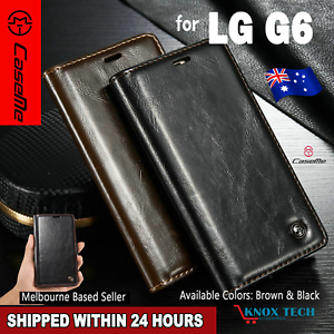 LG-G6-Magnetic-Flip-Wallet-Cover-Flip-Leather-Case-Original-Caseme-Brand