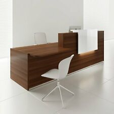 Tera 121 Reception Desk With Lighting Panel Amp Counter Top
