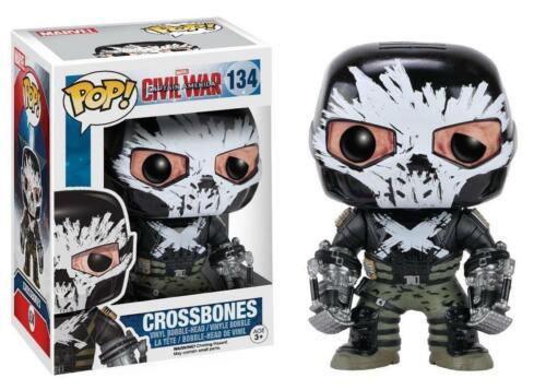 Funko Capitan America Civil War POP Marvel Vinile Figura Crossbones 9 cm