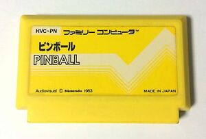 USED-Nintendo-FC-PINBALL-JAPAN-NES-Game-Soft-Only-Famicom-Family-Computer-import