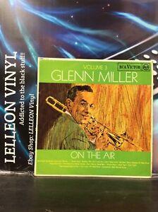Glenn Miller On The Air Volume 3 LP Album Vinyl Record RD7612 Jazz 60's Mono