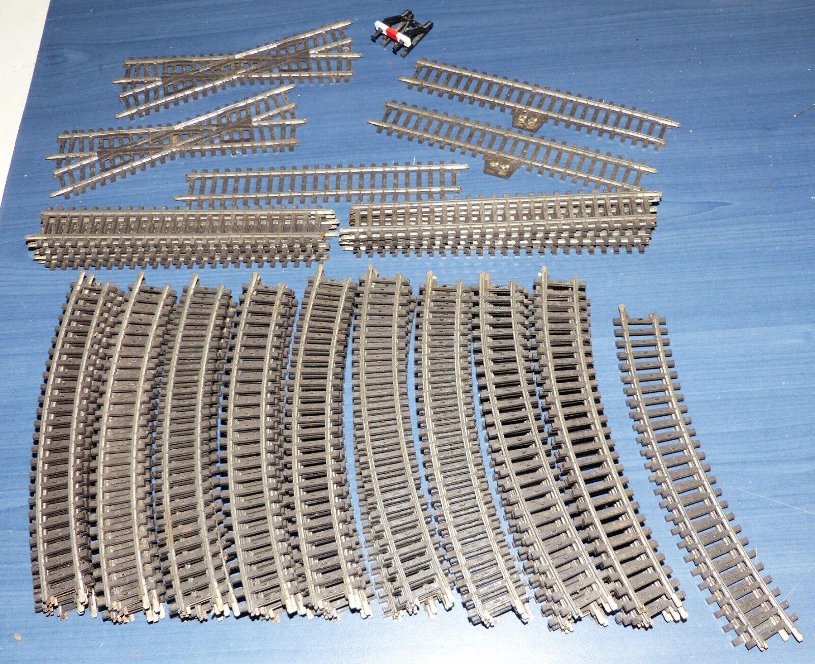 62 pezzi   K BINARIO la raccolta cava profilo da 2121 2100 2190 2159 h0