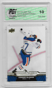 Connor McDavid 2015-16 Upper Deck Collection #CM-14 Rookie Card PGI 10 Oilers