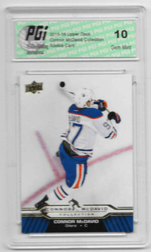 14 Rookie Card IGP 10 Oilers Connor Mcdavid 2015-16 Upper Deck Collection #cm