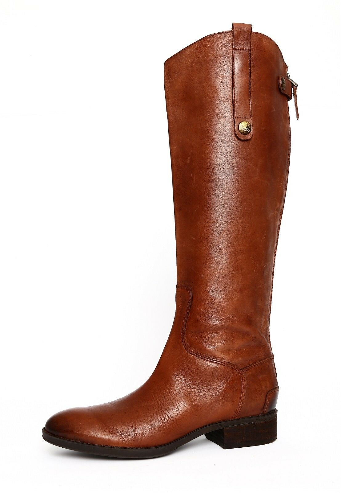 Sam Edelman Penny2 Donna Brown Pelle Boot Sz 6.5 2855 *
