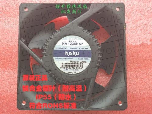Kaku KA1238HA2 220V 120*120*38 mm 50//60hz 0.13A//0.11A all-metal IP55 #M4087 QL