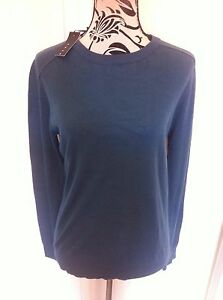 Sisley-Pullover-Cotton-Thin-Long-Sleeves-Ladies-Size-S-10-New