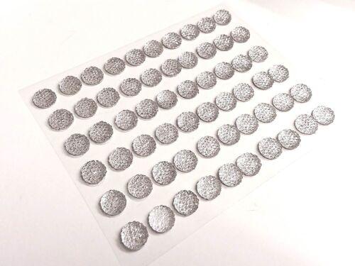 CraftbuddyUS CB69CL 60 Self Adhesive Clear Diamante Rhinestone Bubble Gems DIY