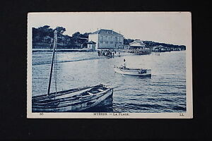 Tarjeta-Postal-Antigua-CPA-Animada-Hyeres-La-Playa