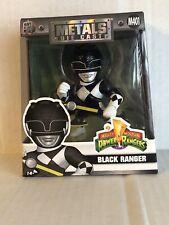 """Black Ranger 4/"""" Metals Diecast Figures--Power Rangers"""