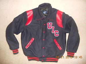 Uic Flames University Of Illinois Circle Campus Jostens Jacket
