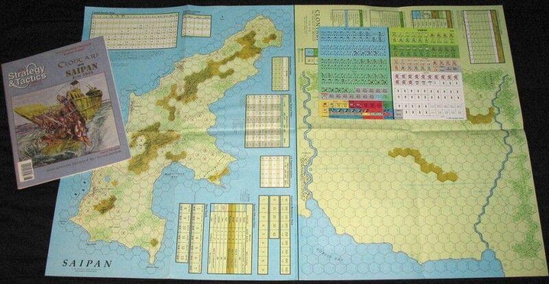 NEW, Strategy & Tactics, S&T Clontarf (April 1014) and Saipan (June 1944)