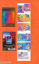 Australia 2000 Olympic Sports 10 x 45c Booklet MNH