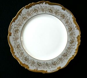 Beautiful-Coalport-Hazelton-Grey-Dinner-Plate