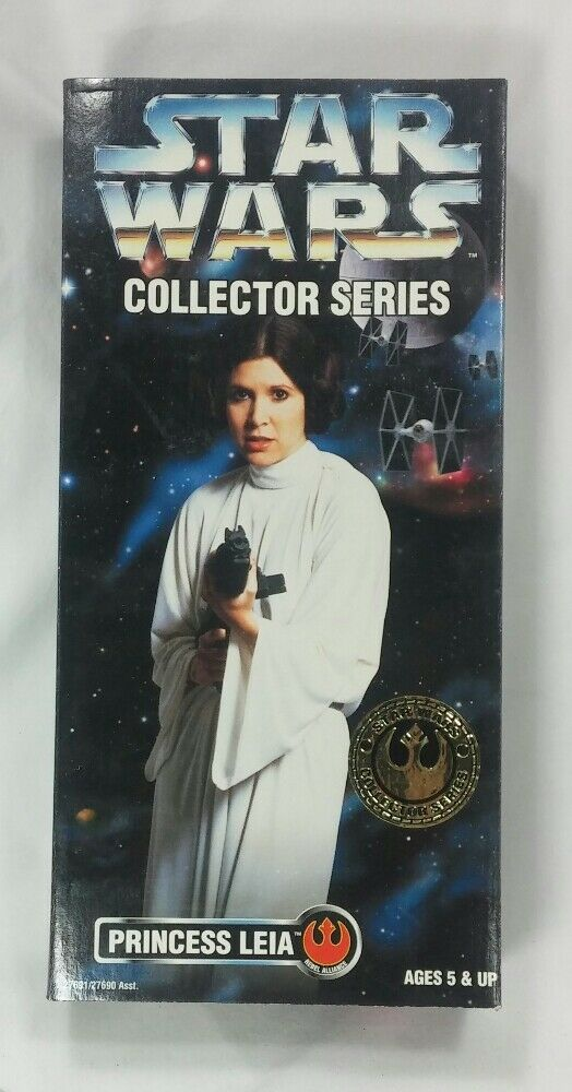 Star wars - serie prinzessin leia 12  - figur puppe carrie fisher, 1996