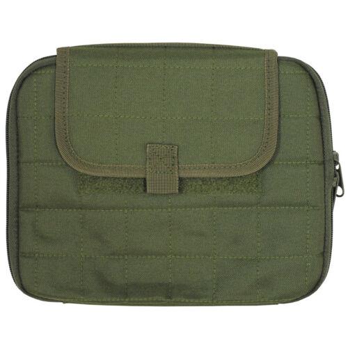 Tablet Pad Tasche Molle gepolstert oliv 20x25cm NEU !