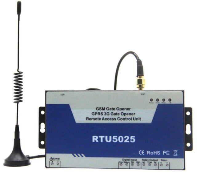 GSM SMS 3G Gate Opener Operator Sliding Garage Door Remote Controller  RTU5025
