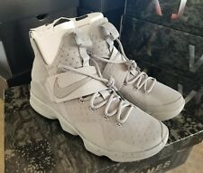 0d6c60ed041 Nike Lebron XIV Basketball Shoes Gray Silver 852405-007 Men s Sizes 8-14 9