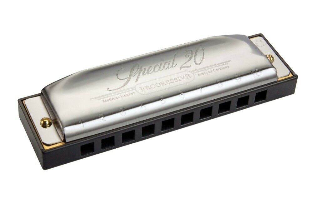 HOHNER Special 20X Classic 560 20X 10-Holes Harmonica Key of Bb