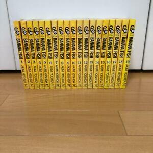 Japanese-Language-BANANA-FISH-Akimi-Yoshida-vol-1-19-Complete-set-Comics-Manga