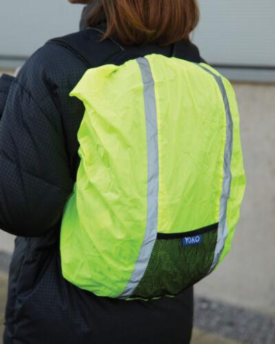 Vélo Course Yoko Amélioré De Cache Sécurité Visibilité Imperméable Sac Dos À xA1q4gx8