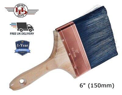 "6/"" Quality Plastering Water Splash Wall Brush Emulsion Fence Decorator /</< NEW />/>"