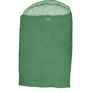 ASHFORD-DOUBLE-300-TRAVEL-BED-SLEEPING-BAG-MATTRESS-MAT-OUTDOOR-SLEEP-CAMPING-GR