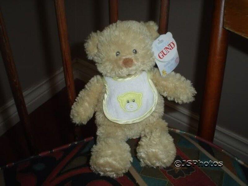 Baby Gund Pokey Rattle Bear Cuddly Pals 58402 2004