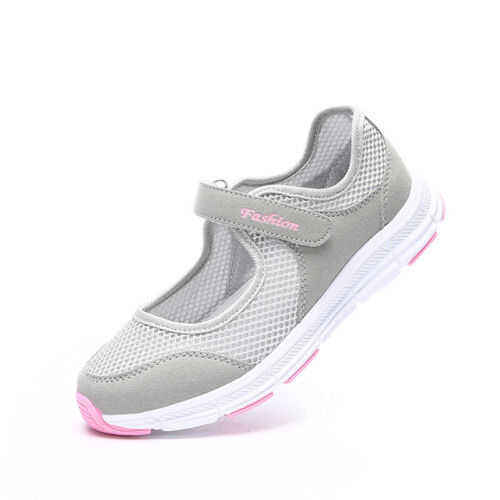 Womens Comfort  Nurse Shoes Fitness Gym Trainers Mesh Breathable Sport Sneaker B
