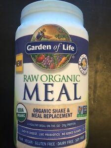 Garden Of Life Raw Meal Vanilla 949g Not Recalled