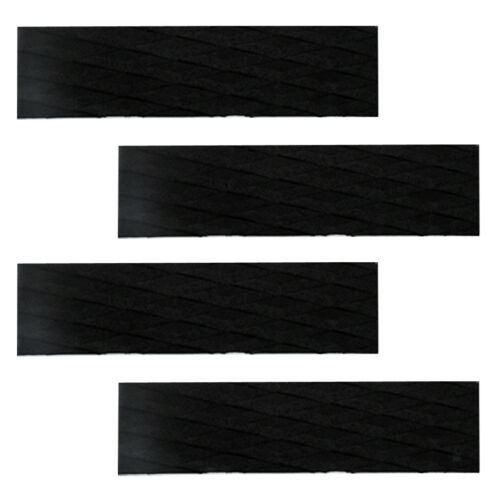 7Pcs Premium Black EVA Surfboard Traction Pad Tail Pad for Surfing Kiteboard