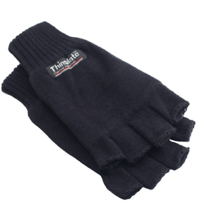 Yoko 3M Thinsulate™ Half Finger Gloves walking//hiking//sports//cycling//work//site