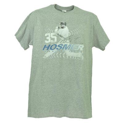Kansas City Royals Eric Hosmer 35 Spieler Autogramm Grau T-shirt Herren Baseball Baseball & Softball