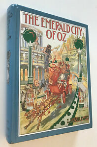 The Emerald City of Oz,and MAP~Facsimile of 1910 First Edition~L.Frank Baum