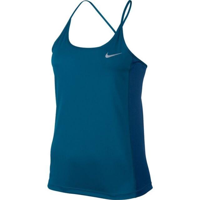 126730e7e7fa1 Nike Women s Dry Miler Tank Industrial Blue Small for sale online