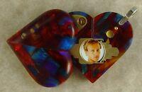 Illusionist Locket 4384 Thin Magic Heart Pendant By Illusion Lockets
