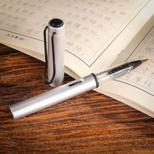 Multicolor Metal Aluminum Rod Soft Nylon Pen Ink Convenient Beauty Pen CB