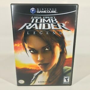 Gamecube Replacement Case Case Only No Game Lara Croft Tomb