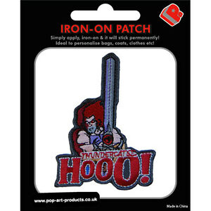 Thundercats-Lion-O-Iron-On-Patch-Embroidered-Badge-HALF-PRICE-ON-SALE