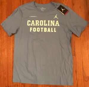 eb13d0089eb Men's UNC North Carolina Tar Heels Football Nike Jordan Legend Shirt ...