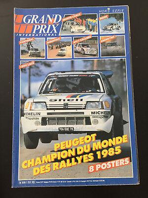 ARI VATANEN /& BRUNO BERGLUND PEUGEOT 405 TURBO 16 PARIS-DAKAR 1989 Poster #PM429