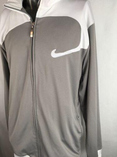 concesiones de Chaqueta Sin en y Excellence Fit blanco Nike Xl calentamiento Basketball gris YXBxaFE