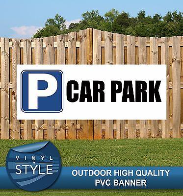 CAR PARK EVENT VISITOR PARKING PVC BANNER PROMOTIONAL PVC VARIOUS SIZES